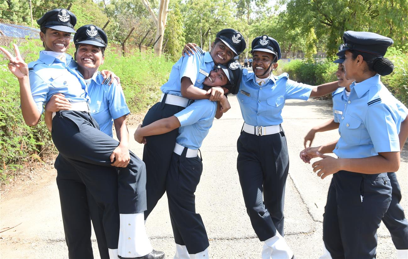 Permanent Officially: Lady Officers