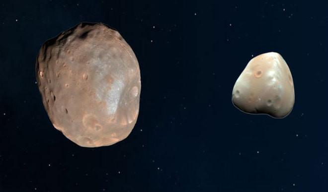 Phobos & Deimos - 'Super Weird' Moons Of Mars
