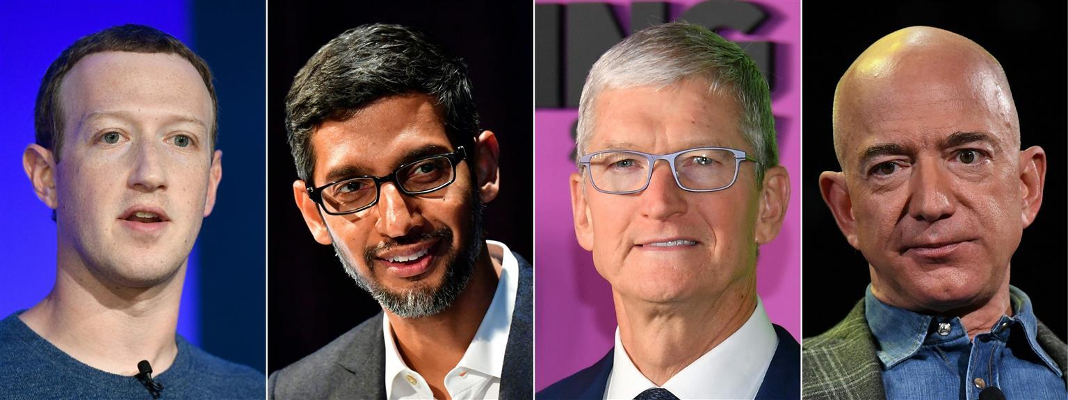 Apple, Amazon, FB, Google To Testify