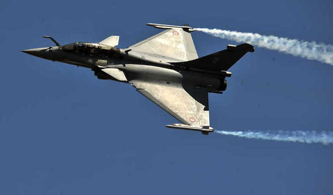 Five Rafale Jets From France Land In India