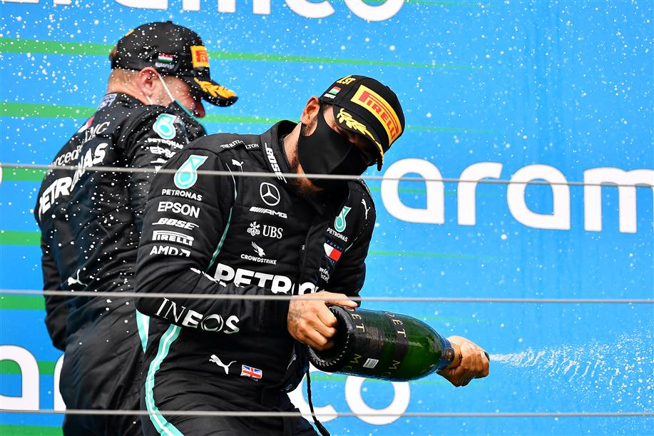 Pandemic Break Could Extend Hamilton's Career