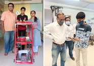 Viraj Shah's Covid 19 War Bot- A Helping Hand To Medical Staff