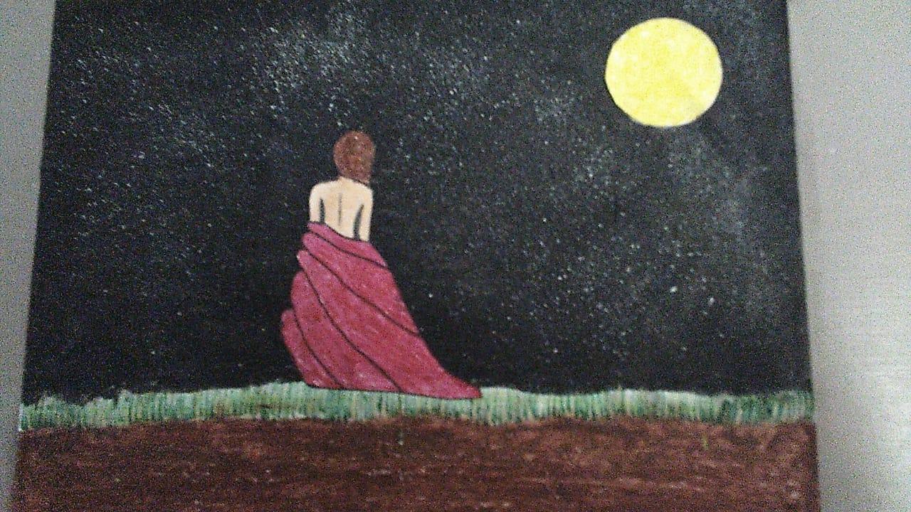 Kilari's Painting 'Beauty Of The Night'
