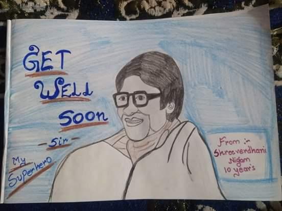 Get Well Soon Big By Shreeverdhani