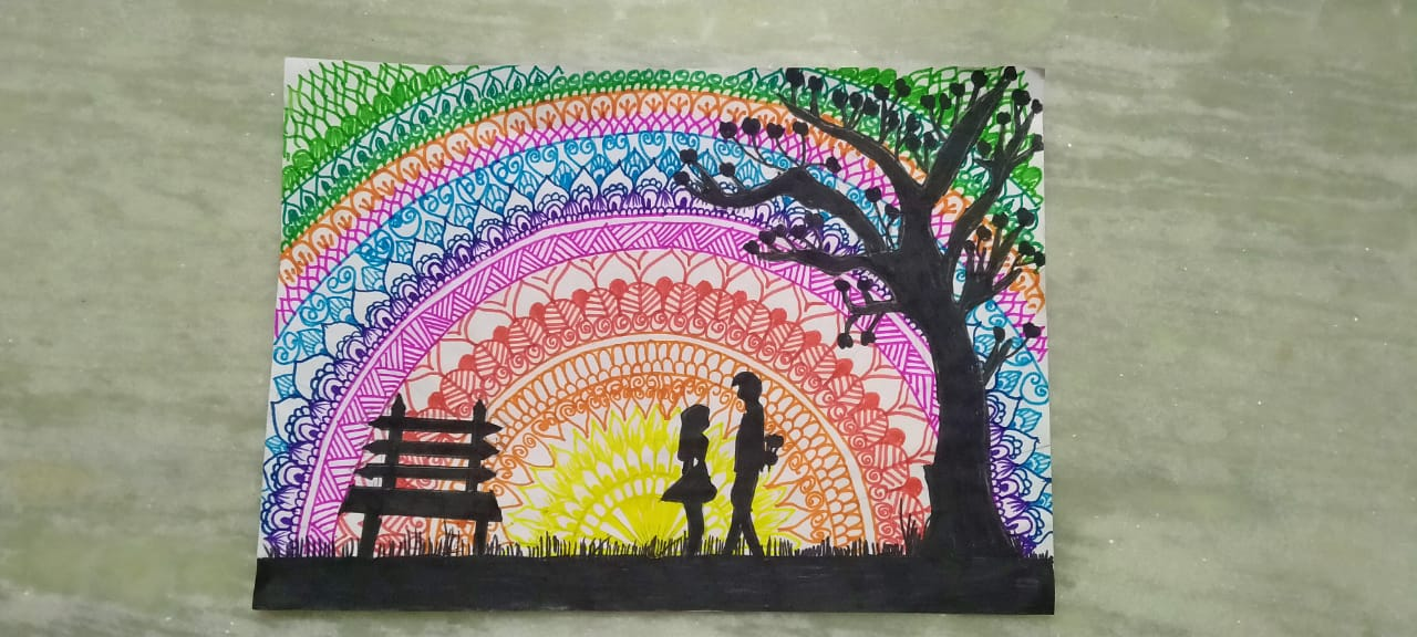 Mandala Art By Harshita