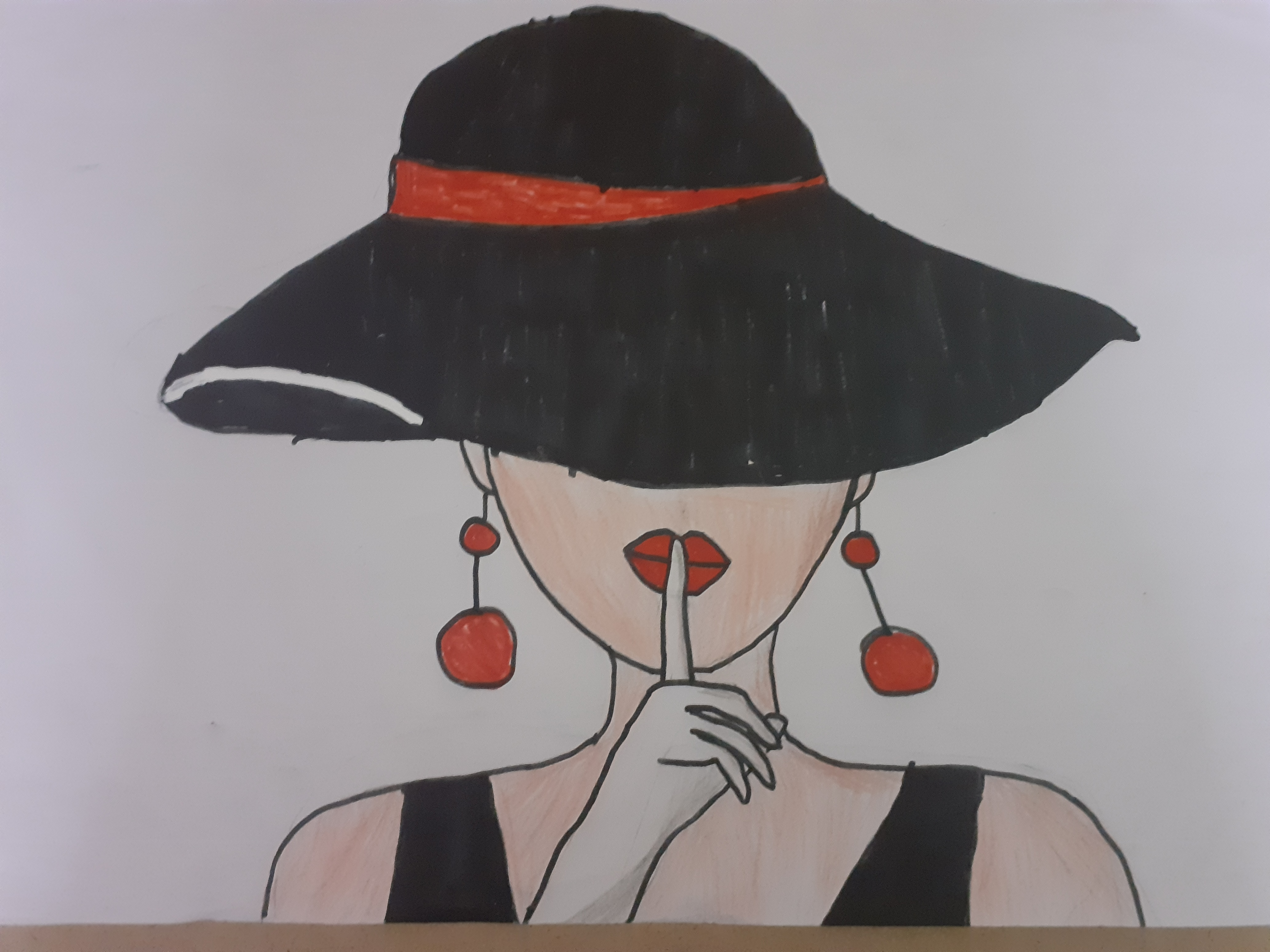 Sandhra's Painting 'Silence'