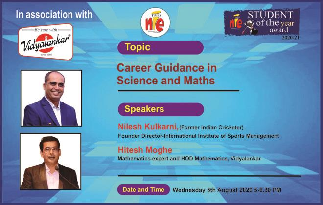 Times NIE Pune Webinar: Student Of The Year Winners