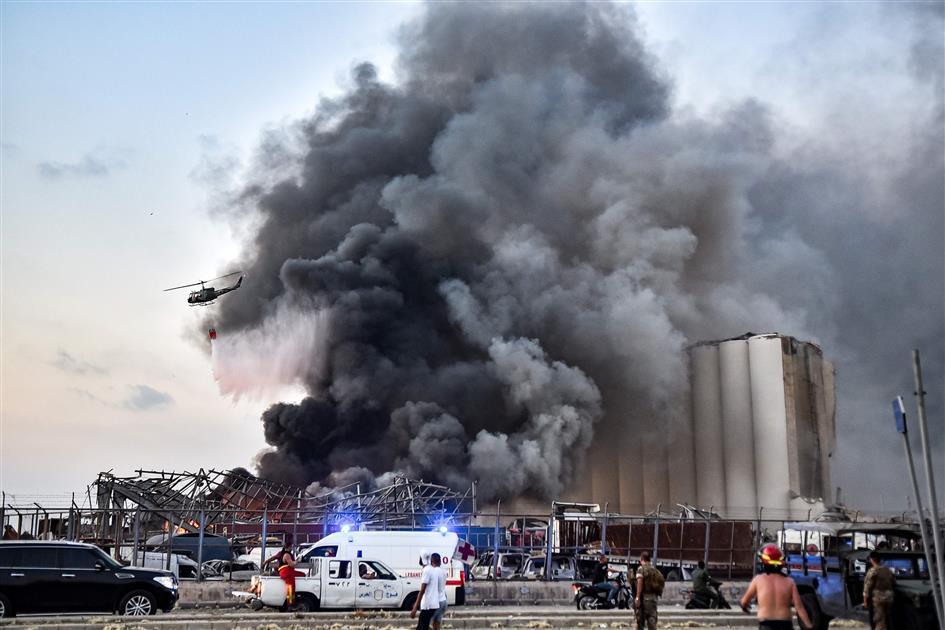 Massive Explosion In Beirut