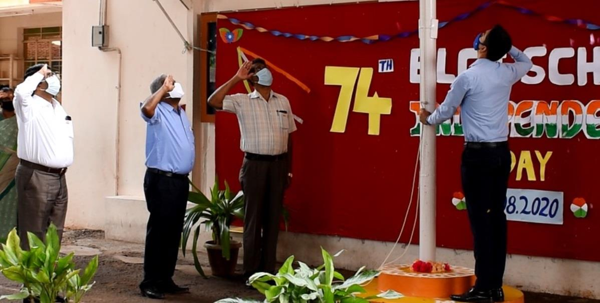 Indepedence Day celebrated at ELGI Matriculation Hr. Sec. School