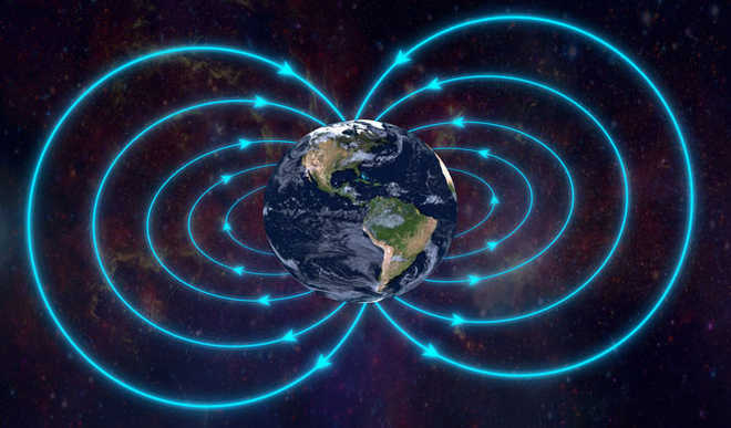 'Dent' In Magnetic Field Expanding