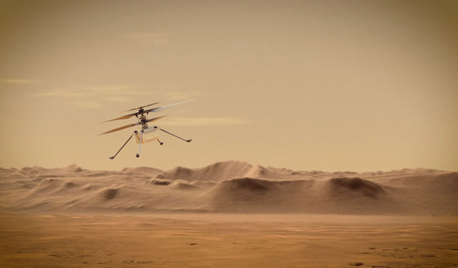 'Wright Brothers Moment' On Mars