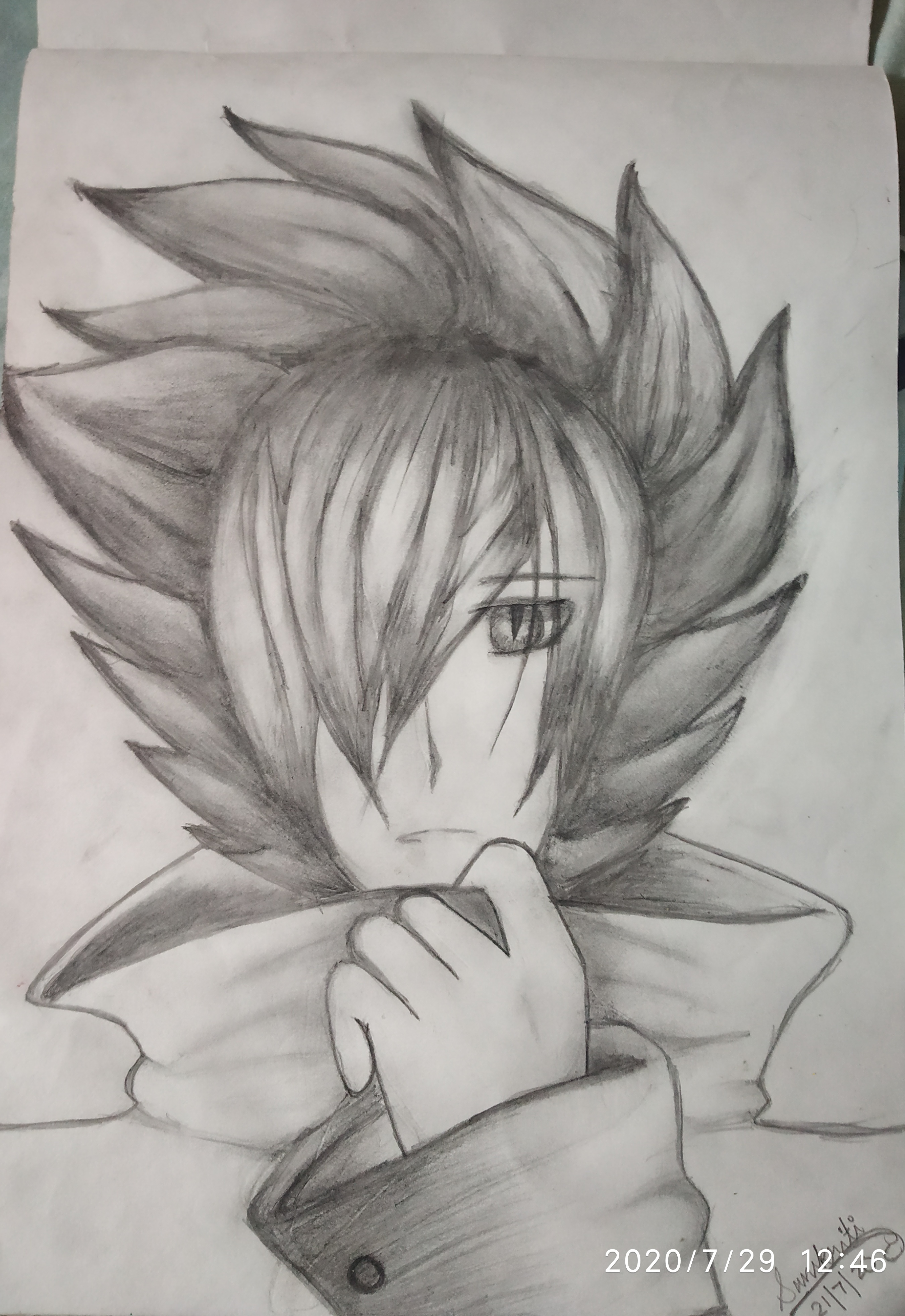 Sanskriti's Drawing Of Anime