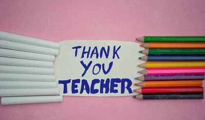 Send 'Thank You' Note To Teachers