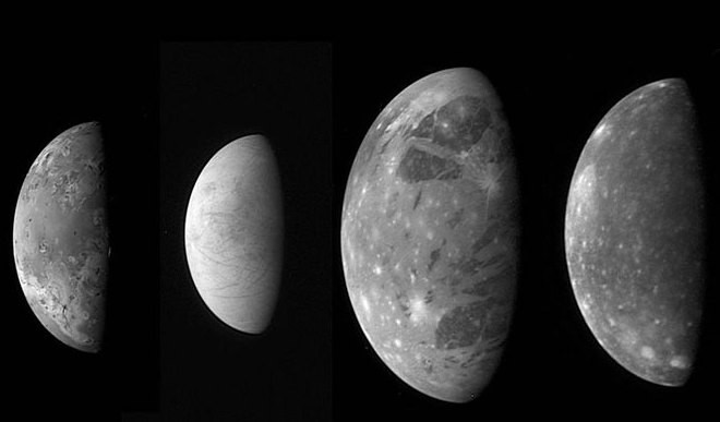 Jupiter's Moons Warming Each Other
