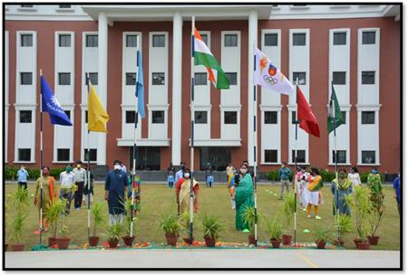 Independence day and investiture ceremony at Asian International School