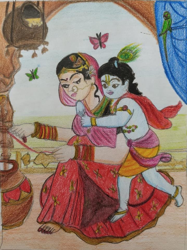 KRISHNA AND RADHA: Srihasini