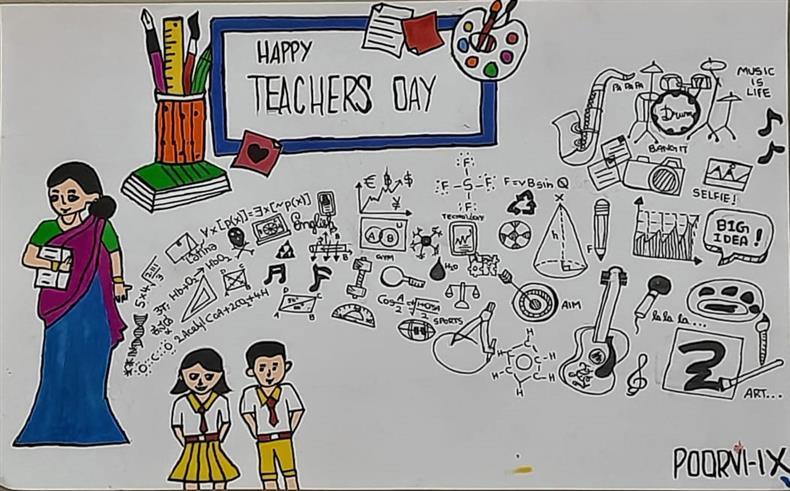TEACHERS DAY: Poorvi Bharadwaj