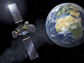 Connecting the world with satellites