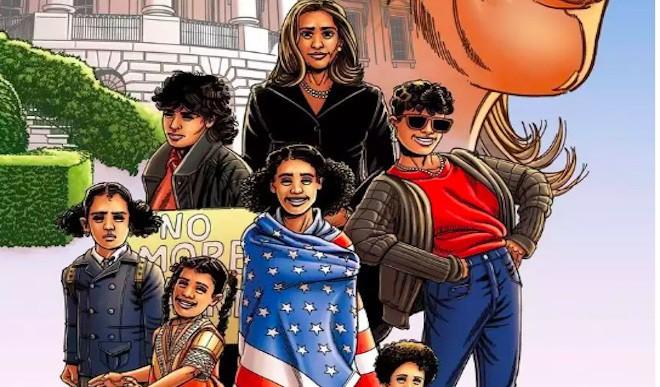 Kamala Harris Stars In New Comic