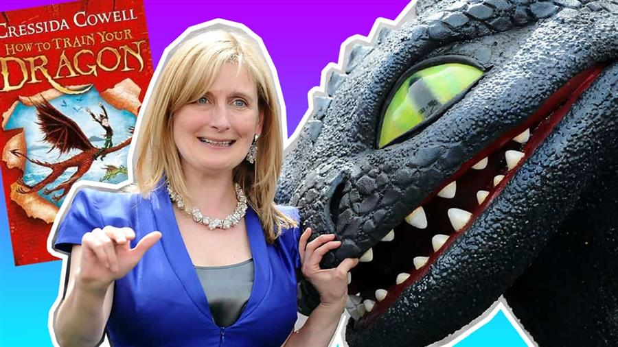 Reality Shaped My Fantasy: Cressida Cowell