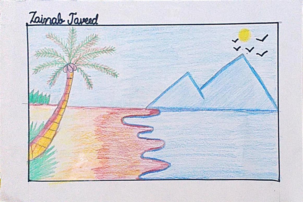SEA SHORE: Zainab Javeed