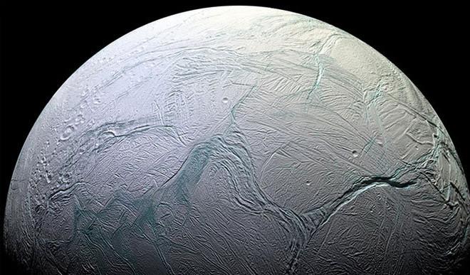 Hints Of Fresh Ice On Enceladus