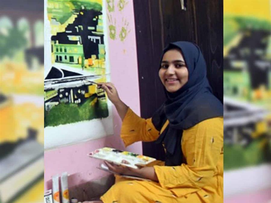 Indian Teen's Art Put Up In UK Restaurant