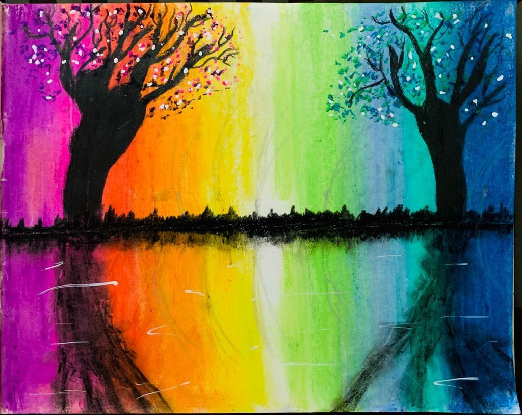 Jaideep's Rainbow Autumn Scenery