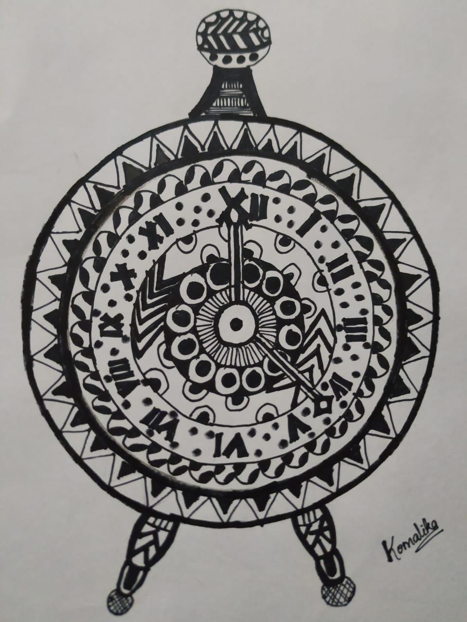 G.Komalika's Doodle Art