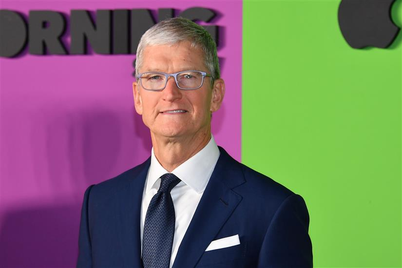 Tim Cook's Pay Up 40% In 2020