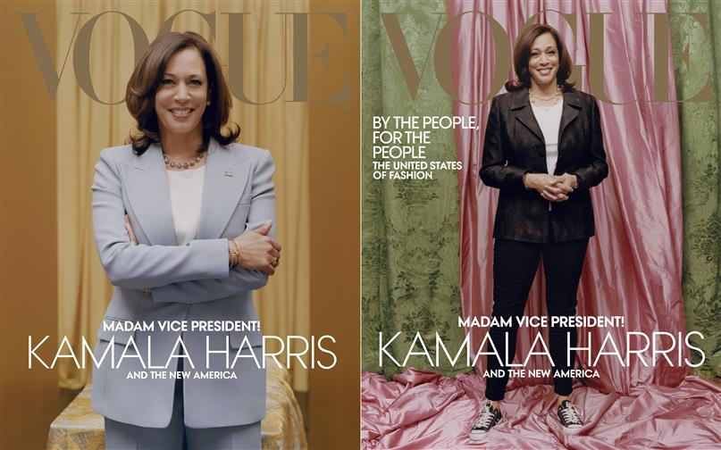 A 'Casual' Kamala On Vogue Cover