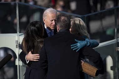 Biden Takes Oath As US President