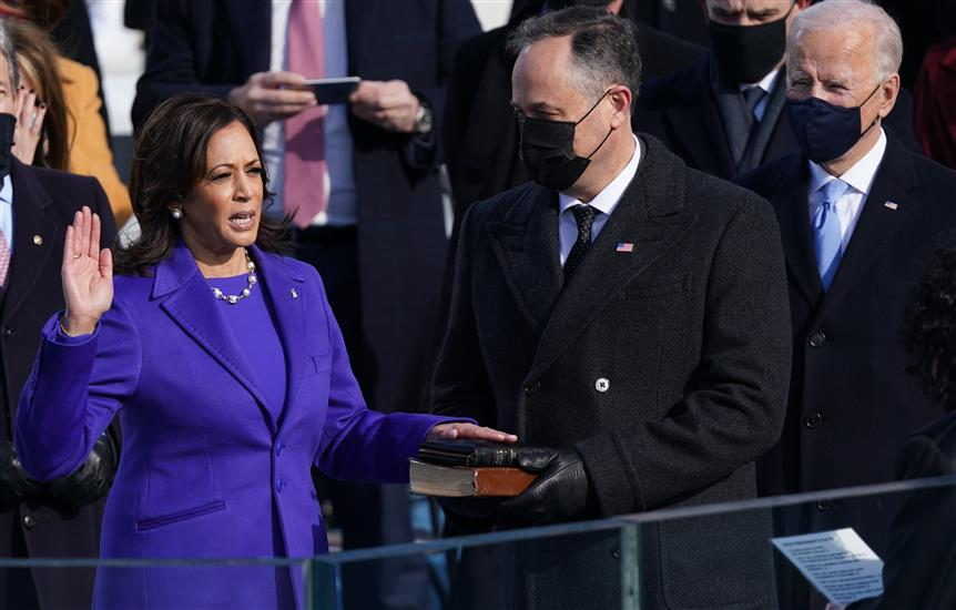 US Gets First Woman VP