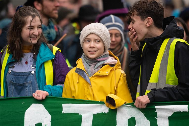 Greta Wishes 'Old Man' Trump A Good Future