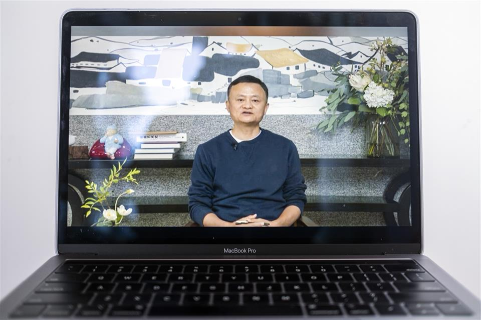 Jack Ma's Chat Prompts $58 Bn Sigh Of Relief