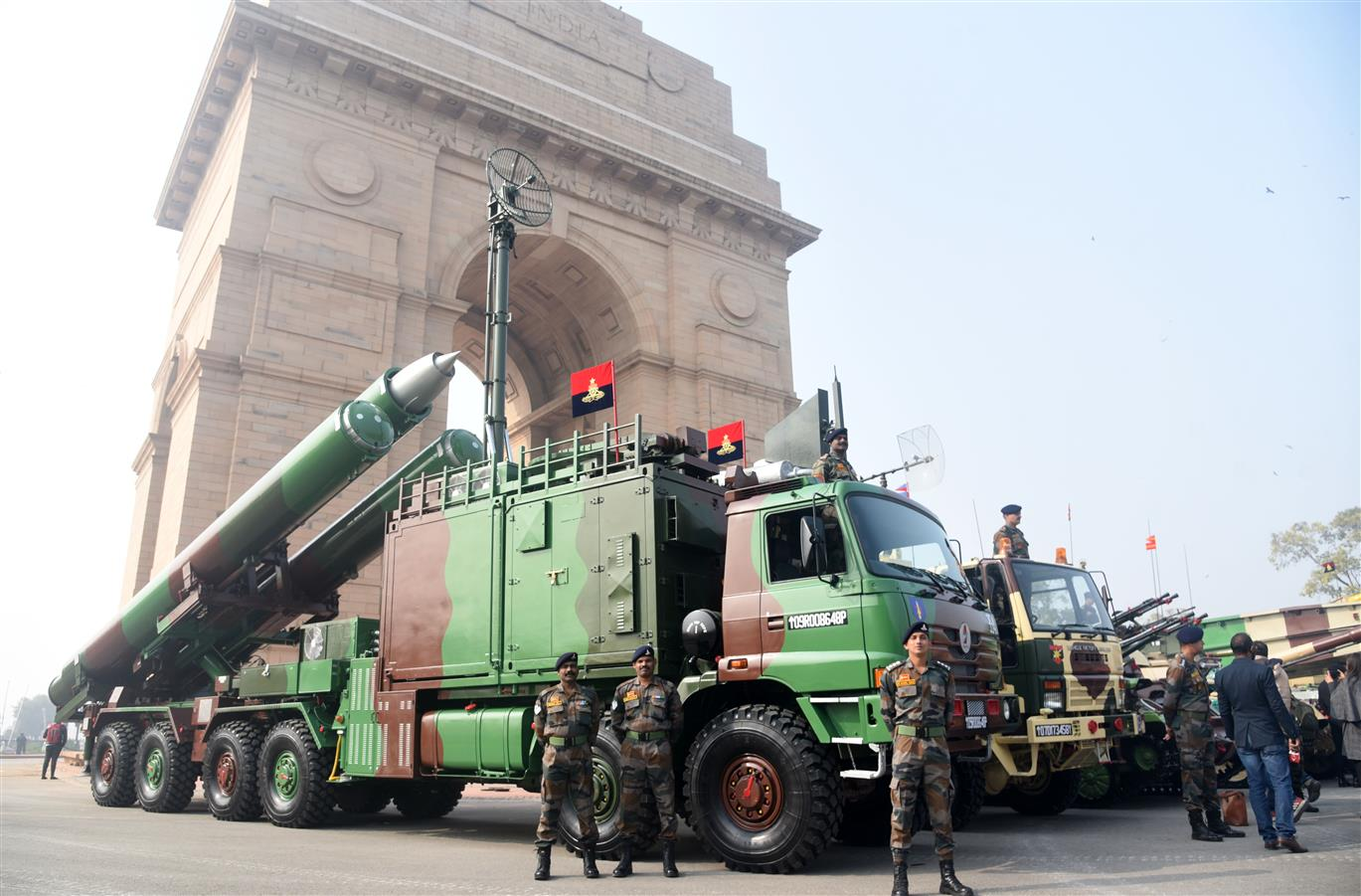 Military Might, Cultural Heritage At RDay