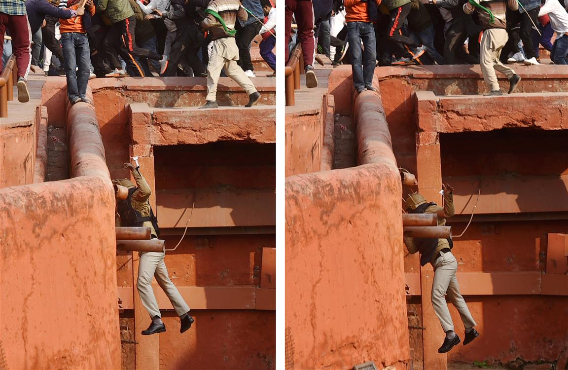 India's 'Capitol Hill' Moment At Red Fort