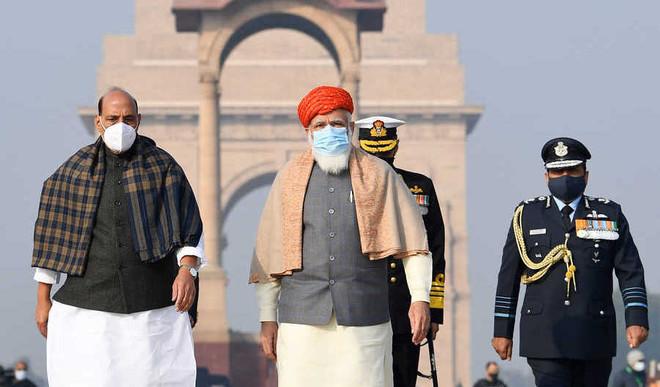 PM Dons Jamnagar Pagdi On R Day