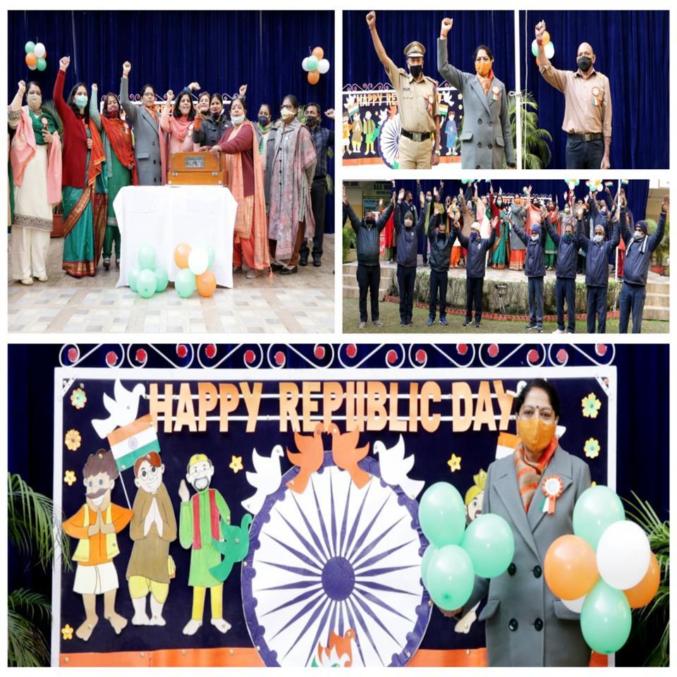Colourful performances mark R-Day celebration