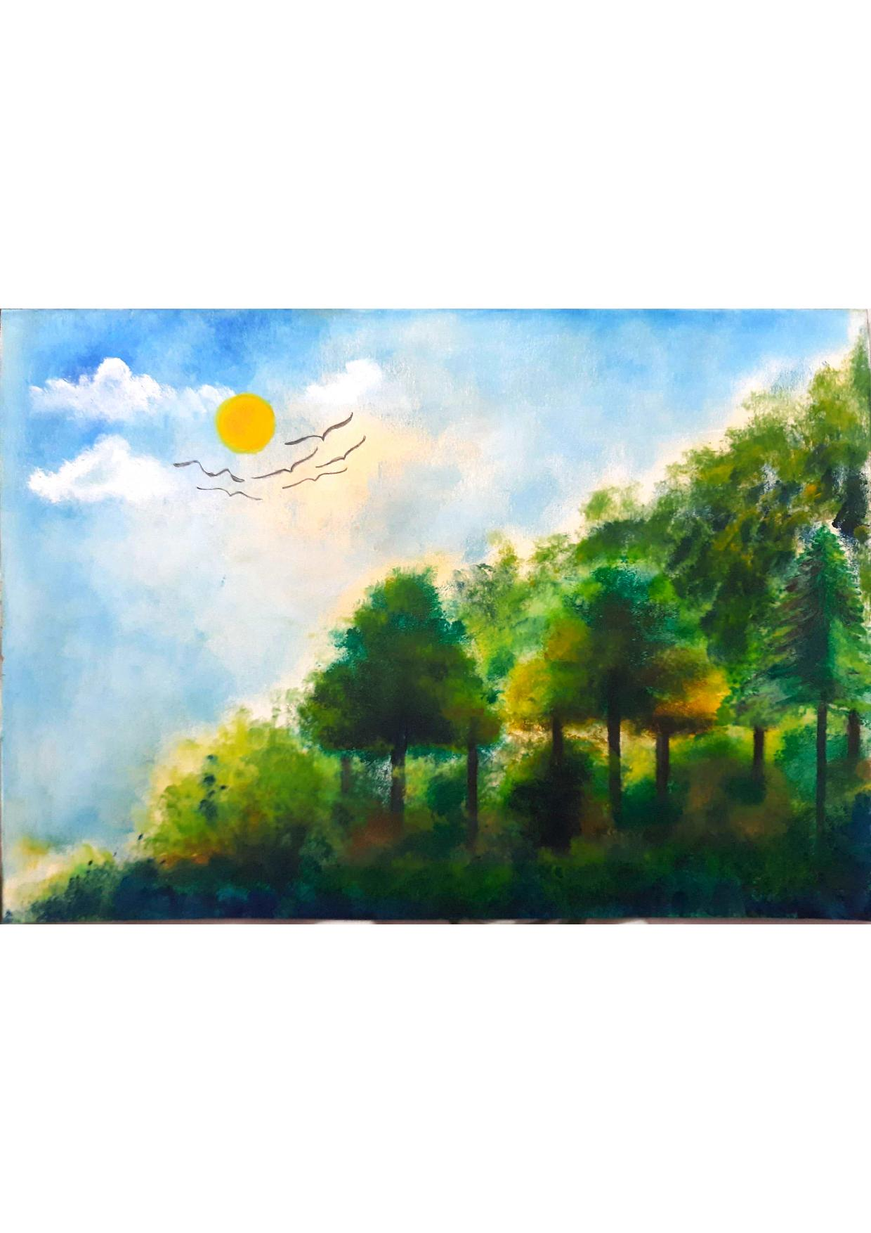 Saswati's Oil Paint Dreamland
