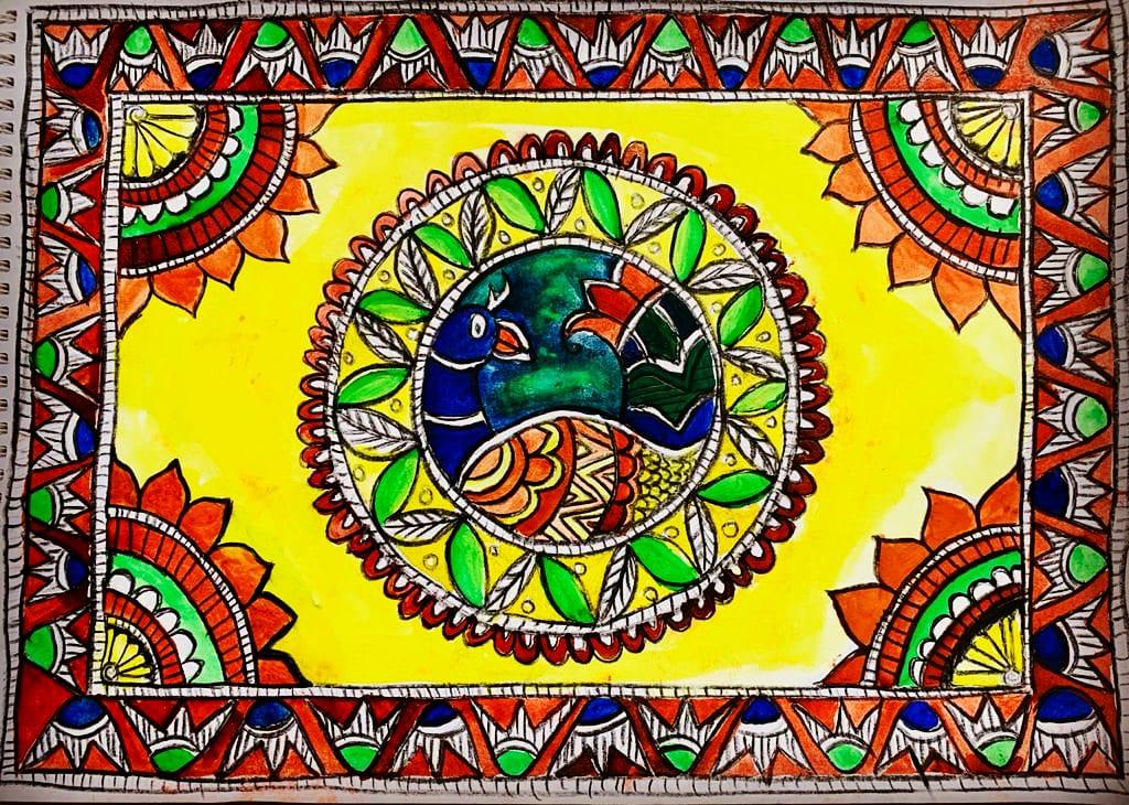 Akshara's Madhubani Art