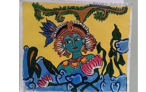KRISHNA: Anusree Suresh