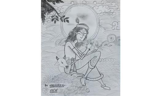 KRISHNA AND FLUTE: Hariharan