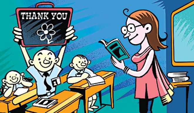 Sruthi: Aren't Teachers Like Our Parents?
