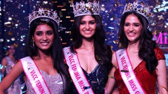 Manasa Crowned VLCC Femina Miss India World 2020