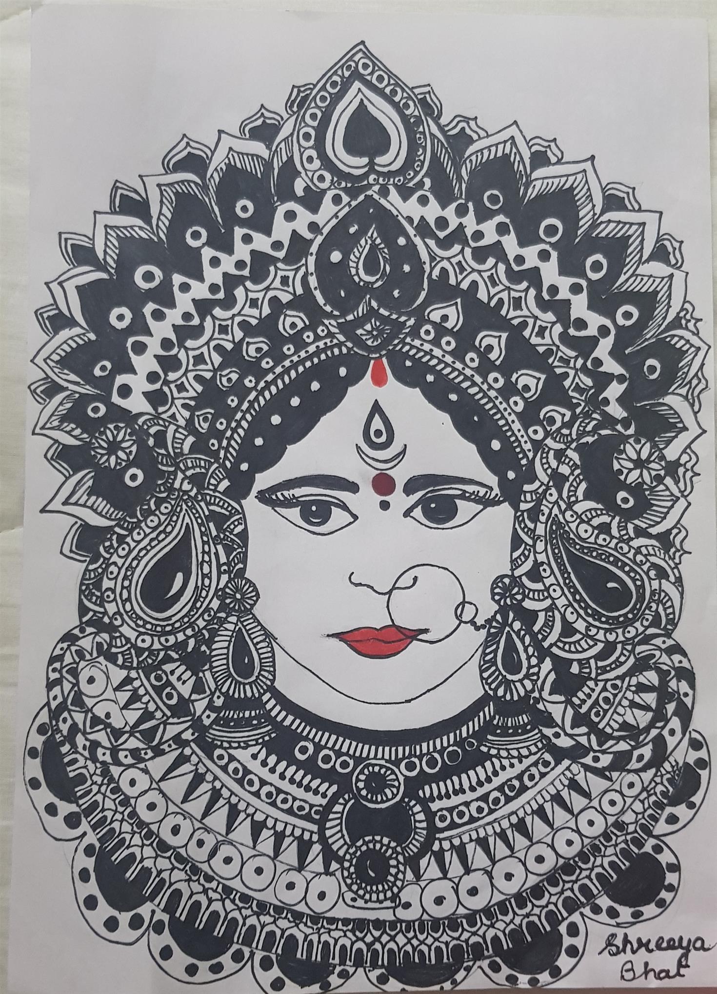 DURGA : Shreya Bhat