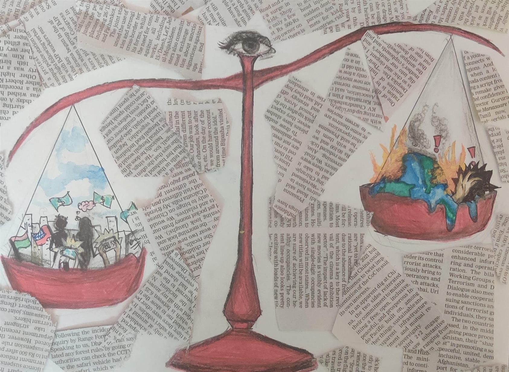 NEGLECTED ENVIRONMENT: Akhila Rahul