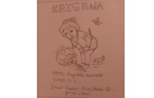 LITTLE KRISHNA : Prajakta Debnath