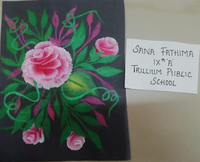 ROSE IS A ROSE : Sana Fathima
