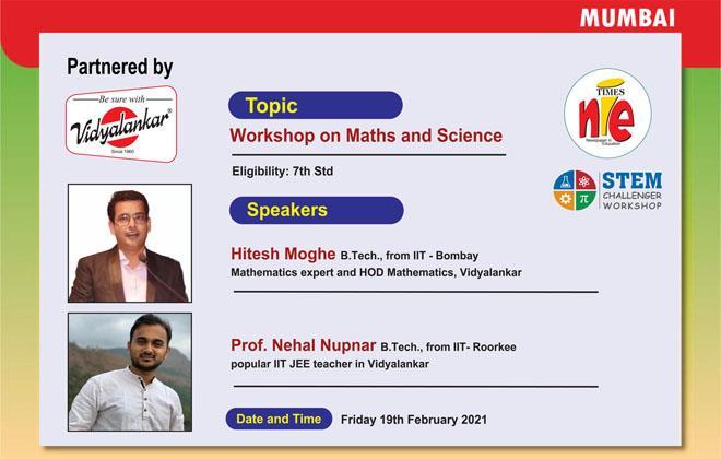 Times NIE Webinar For Students: Mumbai